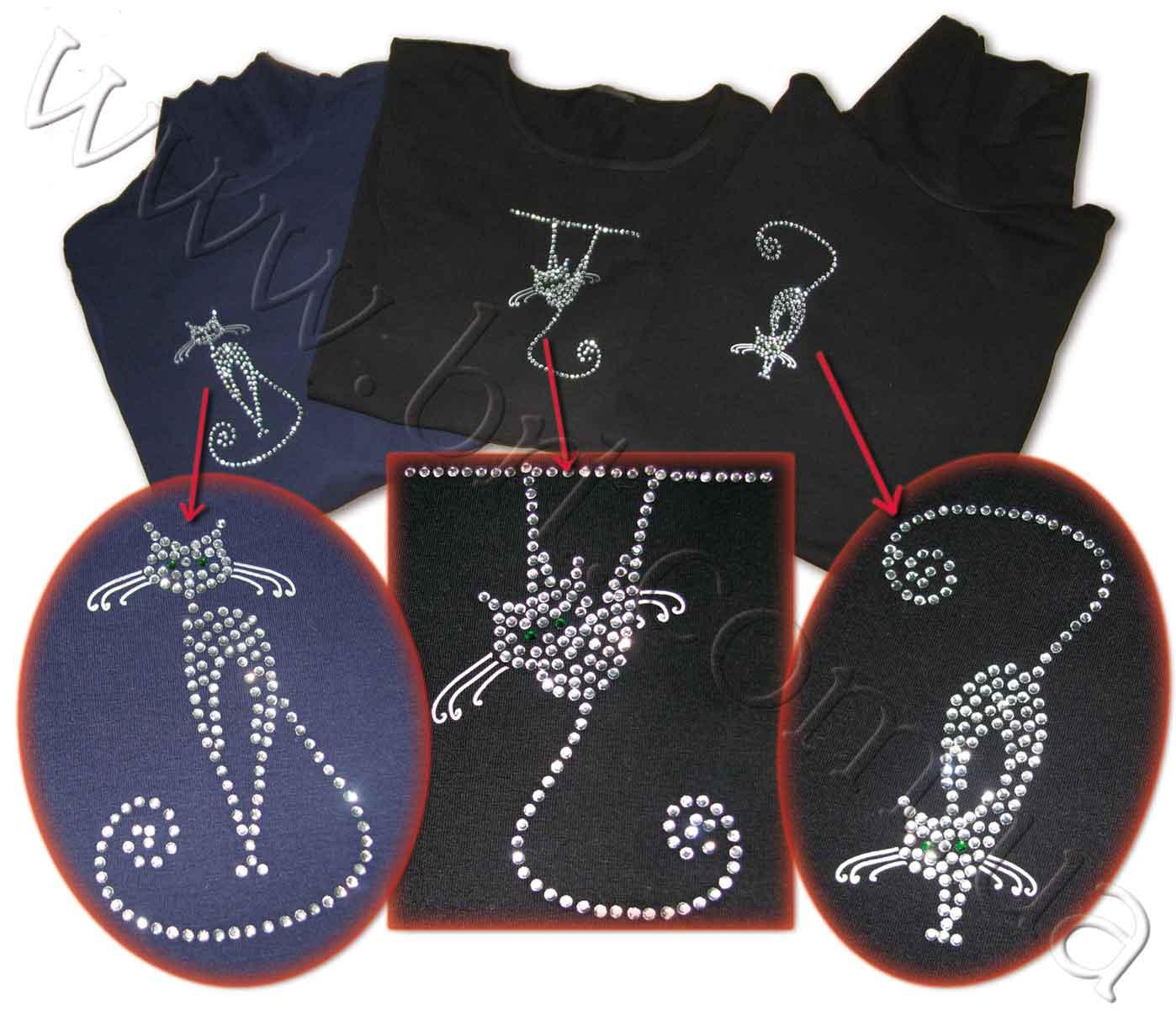 Рисунок на джинсах из страз своими руками