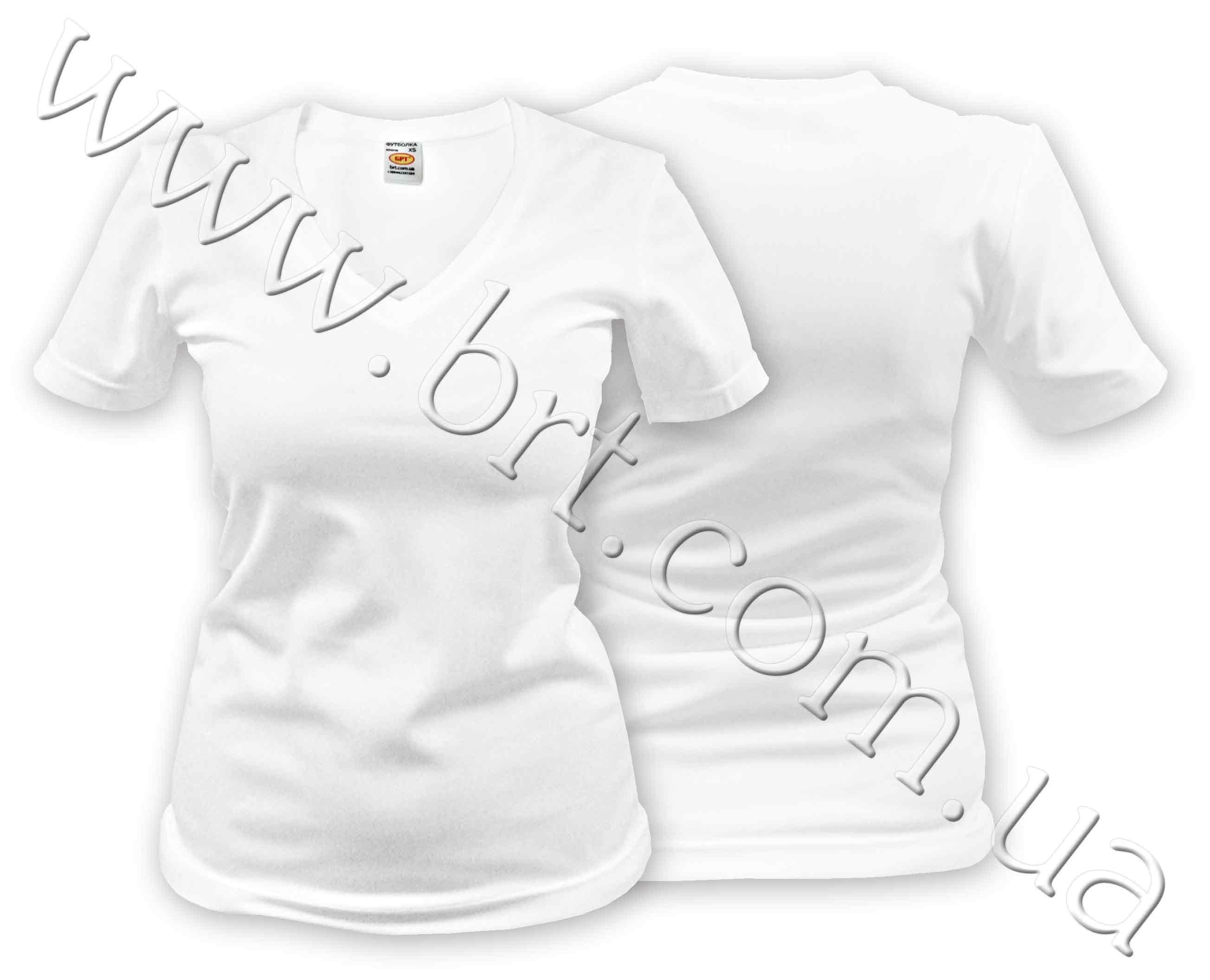 Женская футболка для сублимации