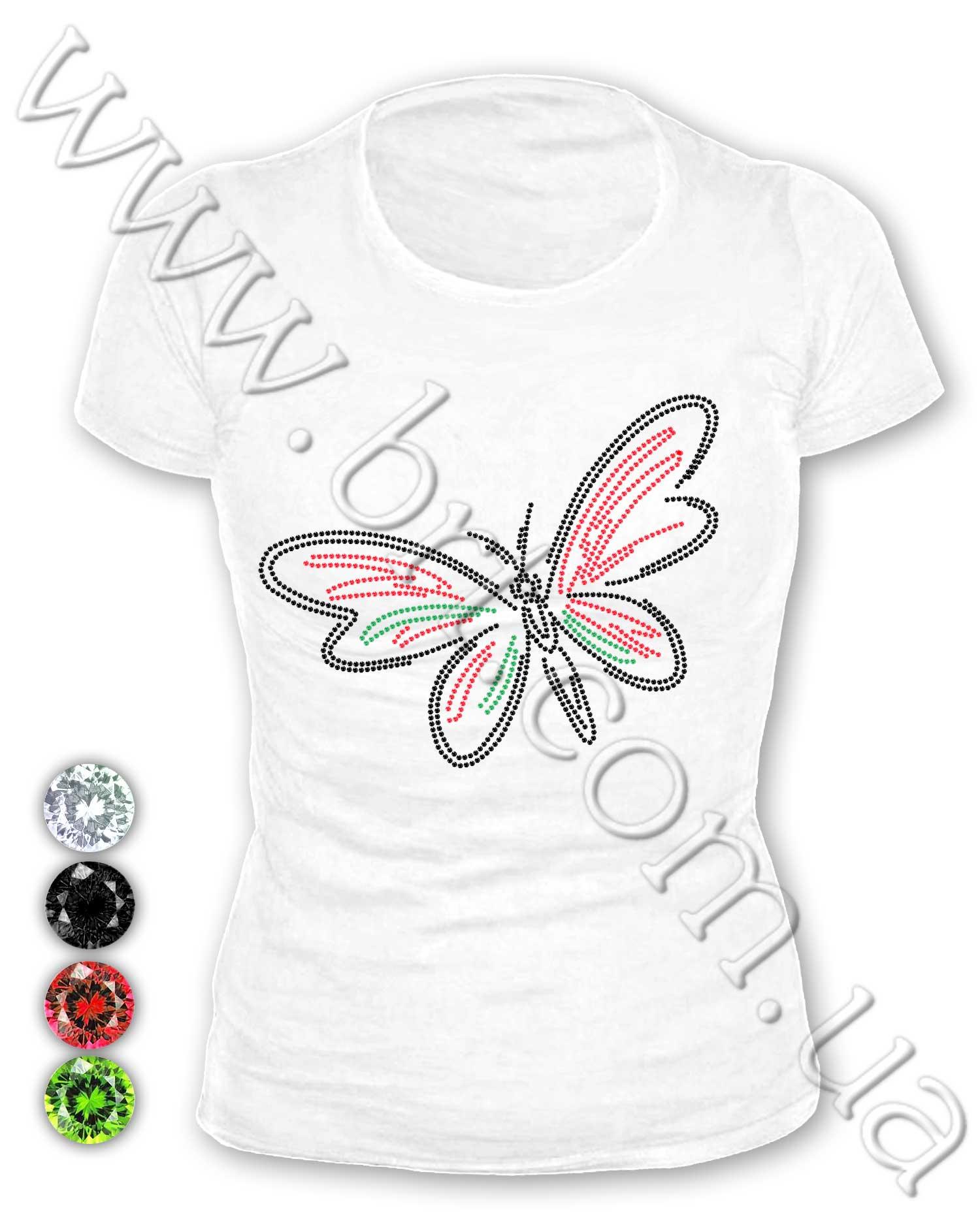 Как сделать орнамент на футболке